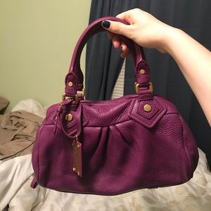 Marc by Marc Jacobs Violet Genuine Leather Handbag